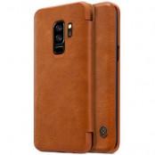 Nillkin Qin Plånboksfodral till Samsung Galaxy S9 Plus - Brun