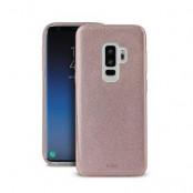 Puro Shine Cover Samsung Galaxy S9 Plus - Roséguld