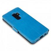 Qubits Plånboksfodral Samsung Galaxy S9 Plus - Blå