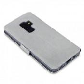 Qubits Plånboksfodral Samsung Galaxy S9 Plus - Grå