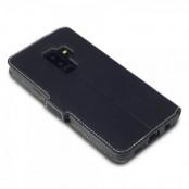 Qubits Plånboksfodral Samsung Galaxy S9 Plus - Svart