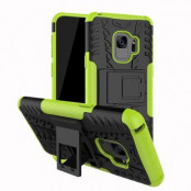 Rugged Armor Kickstand Skal till Samsung Galaxy S9 Plus - Grön