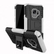 Rugged Armor Kickstand Skal till Samsung Galaxy S9 Plus - Vit