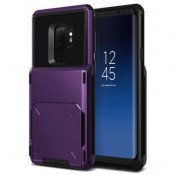 Verus Damda Folder Card Slot Skal till Samsung Galaxy S9 Plus - Lila