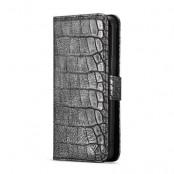WHATIF Croco Plånboksfodral Samsung Galaxy S9 Plus - Svart