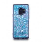 Glitter Skal till Samsung Galaxy S9 - Blå