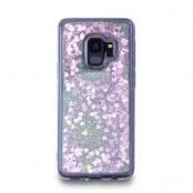 Glitter Skal till Samsung Galaxy S9 - Rosa