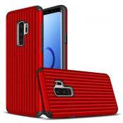 Hybrid Armor Skal till Samsung Galaxy S9 - Röd