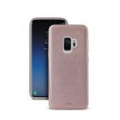 Puro Shine Cover Samsung Galaxy S9 - Roséguld