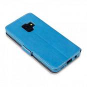 Qubits Plånboksfodral Samsung Galaxy S9 - Blå