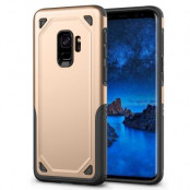 Rugged Armor Skal till Samsung Galaxy S9 - Gold