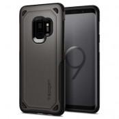 Spigen Hybrid Armor Skal till Samsung Galaxy S9 - Gunmetal