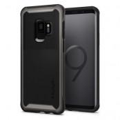Spigen Neo Hybrid Urban Skal till Samsung Galaxy S9 - Gunmetal