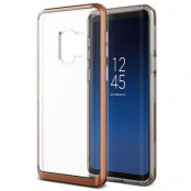 Verus Crystal Bumper Skal till Samsung Galaxy S9 - Blush Gold
