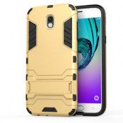 Kick-Stand Mobilskal till Samsung Galaxy J5 (2017) - Gold