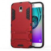 Kick-Stand Mobilskal till Samsung Galaxy J5 (2017) - Röd