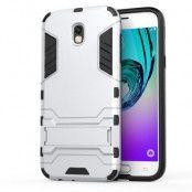 Kick-Stand Mobilskal till Samsung Galaxy J5 (2017) - Silver