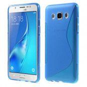 S-line Mobilskal till Samsung Galaxy J5 (2016) - Blå