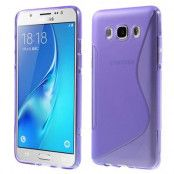 S-line Mobilskal till Samsung Galaxy J5 (2016) - Lila