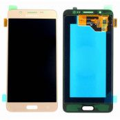 Samsung J5 2016 Komplett Skärm LCD & touch - Original - Guld