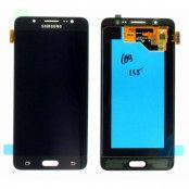 Samsung J5 2016 Komplett Skärm LCD & touch - Original - Svart