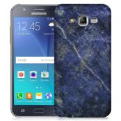 Skal till Samsung Galaxy J5 - Marble - Blå