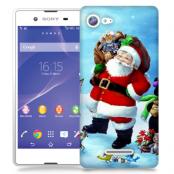 Skal till Sony Xperia E3 - Glad Jultomte