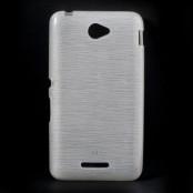 Flexicase Brushed Skal till Sony Xperia E4 - Vit