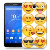 Skal till Sony Xperia E4 - Emoji - Smileys