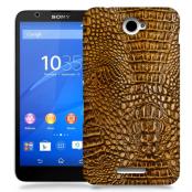 Skal till Sony Xperia E4 - Krokodilskinn