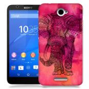 Skal till Sony Xperia E4 - Orientalisk elefant