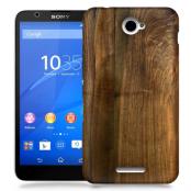 Skal till Sony Xperia E4 - Trä