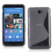 Flexicase Skal till Sony Xperia E4g - Grå
