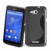 Flexicase Skal till Sony Xperia E4g - Svart