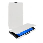 Roxfit SlimLine Book Case till Sony Xperia E4g - Vit