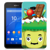 Skal till Sony Xperia E4g - Godis monster