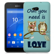 Skal till Sony Xperia E4g - Owl you need is love
