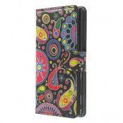 Plånboksfodral till Sony Xperia M2 - Jelly Fish