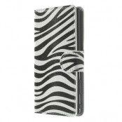 Plånboksfodral till Sony Xperia M2 - Zebra