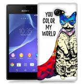 Skal till Sony Xperia M2 - Color my world - Katt