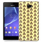 Skal till Sony Xperia M2 - Emoji - Bajs