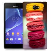 Skal till Sony Xperia M2 - Macarons - Rosa