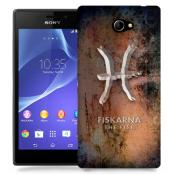 Skal till Sony Xperia M2 - Stjärntecken - Fiskarna