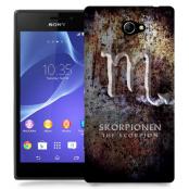 Skal till Sony Xperia M2 - Stjärntecken - Skorpionen