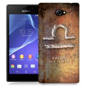 Skal till Sony Xperia M2 - Stjärntecken - Vågen
