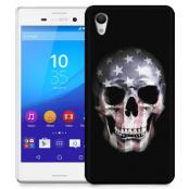 Skal till Sony Xperia M4 Aqua - American Skull