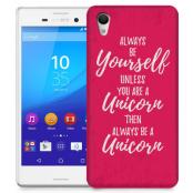 Skal till Sony Xperia M4 Aqua - Be a unicorn
