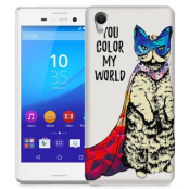 Skal till Sony Xperia M4 Aqua - Color my world - Katt