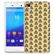 Skal till Sony Xperia M4 Aqua - Emoji - Bajs