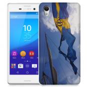 Skal till Sony Xperia M4 Aqua - Hissad flagga